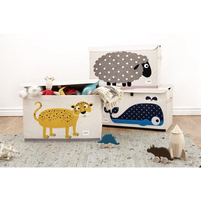 Baúl para juguetes de animales - 3 Sprouts