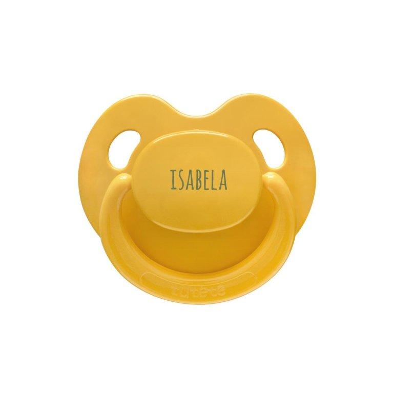 Chupete personalizado bebé látex y silicona
