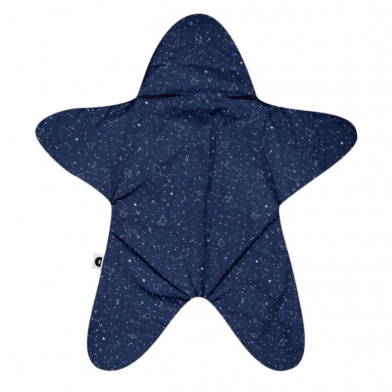 """Saco de dormir para bebés """"Baby star azul marino"""" - Baby Bites"""