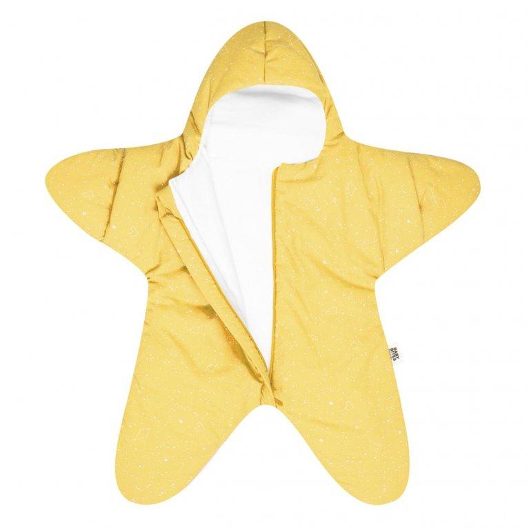 "Saco de dormir para bebés ""baby star amarillo"" - Baby bites"