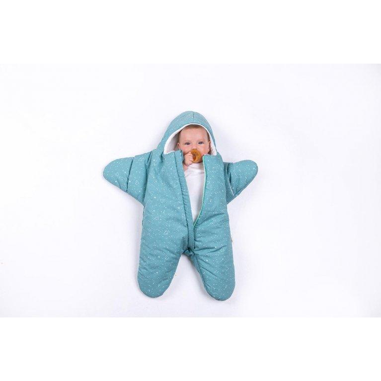"""Saco de dormir para bebés """"Baby star burdeos"""" - Baby Bites"""