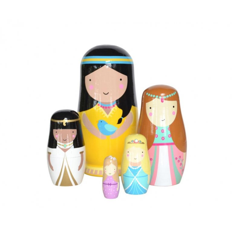 Matrioskas de Madera Dolls Princess
