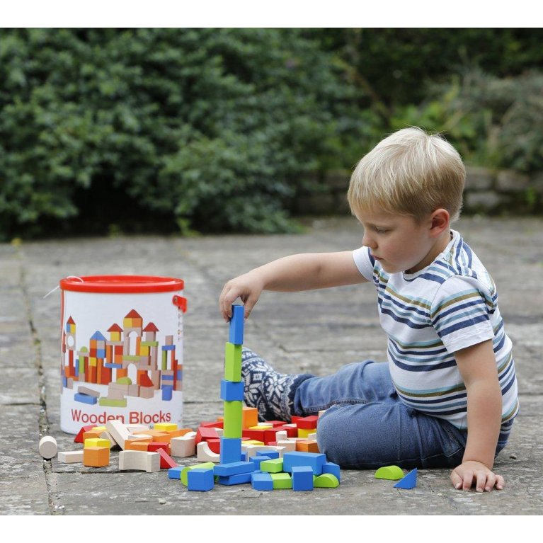 Bloques de madera para niños - Hippychick