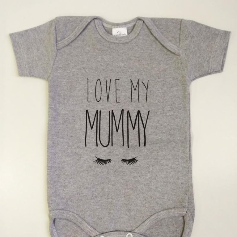 "Body bebé ""Love my Mummy"" Maminébaba"