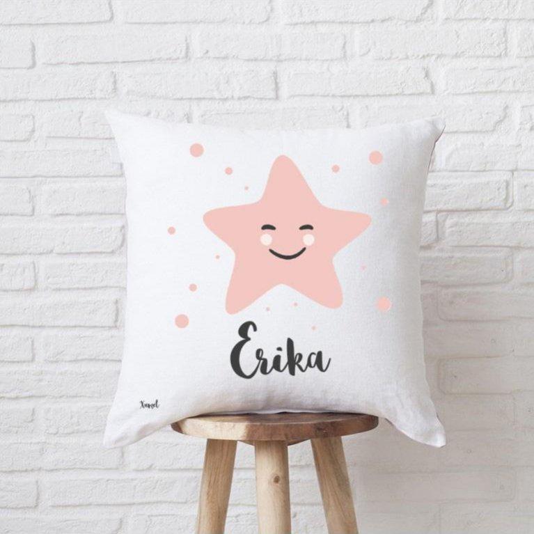 """Cojín Personalizado """"Estrella"""""""