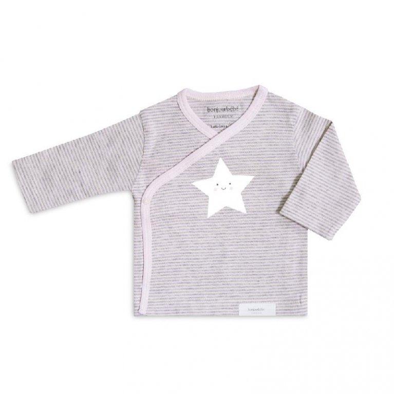 Pack camiseta y polaina estrellas Bonjourbebé