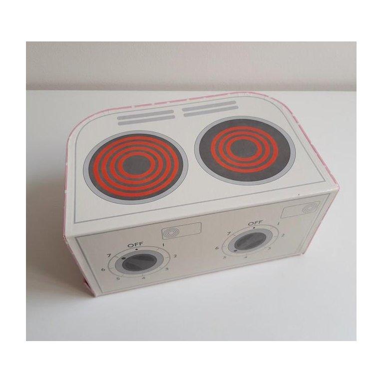 Caja regalo niños con cocina infantil