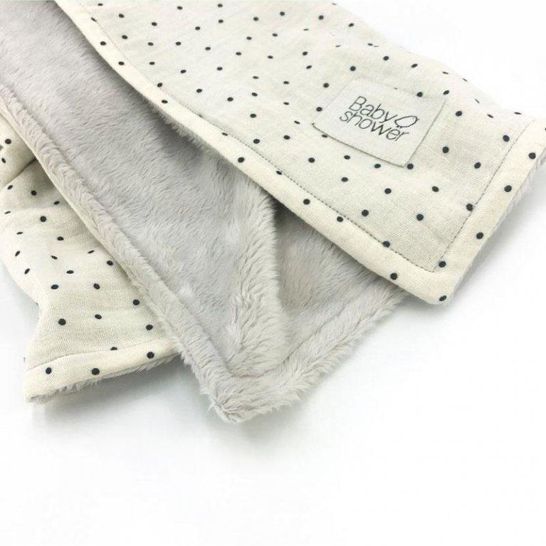 "Manta Polar ""Polka Dot"" - Baby Shower"