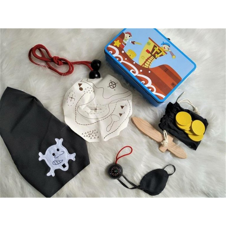 "Maletín set ""para piratas"""