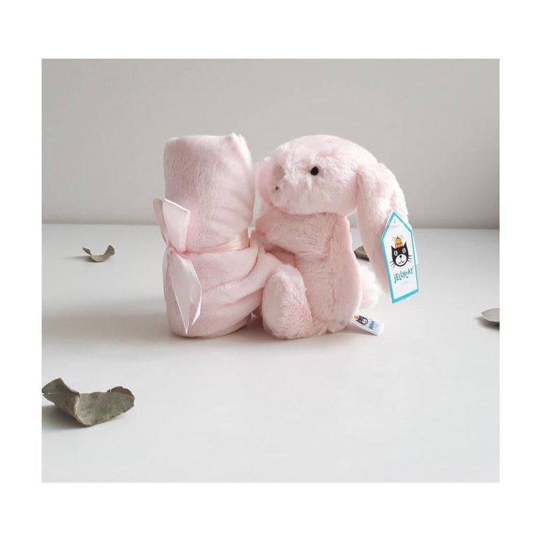 cesta bebé primera puesta Mil Rayas Rosa