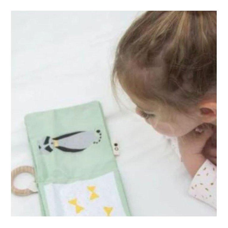 Libro de texturas para bebé