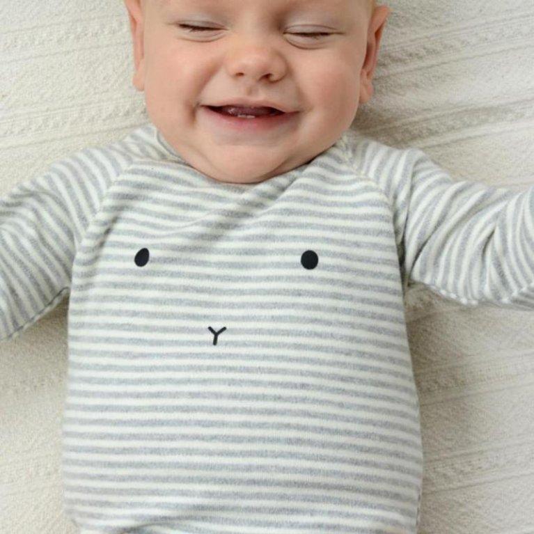 """Body bebé orgánico """"Bunny"""""""