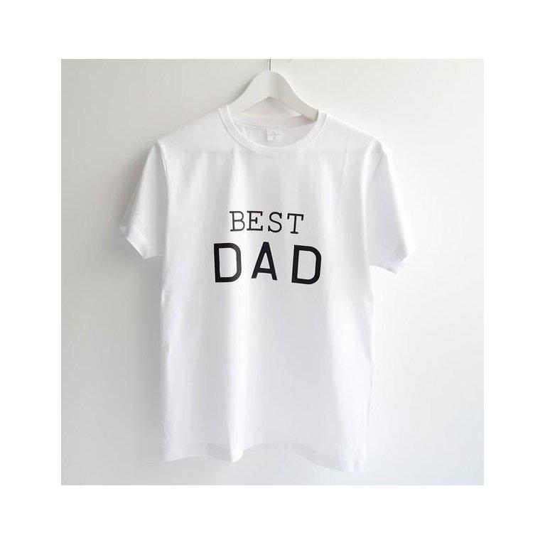 Camiseta para papá BEST DAD - Maminébaba
