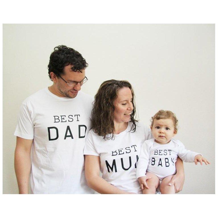 Camiseta para mamá BEST MUM - Maminébaba