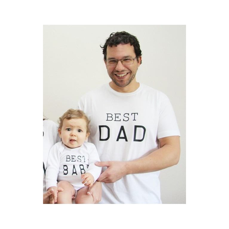 Conjunto papá y bebé BEST DAD & BABY - Maminébaba