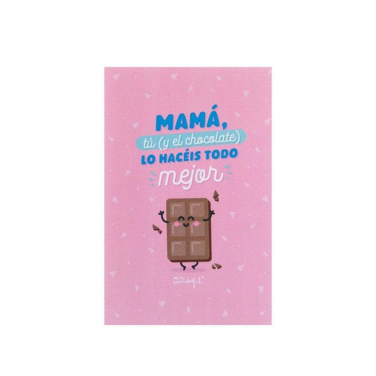 Chocolatinas para madres Mr Wonderful