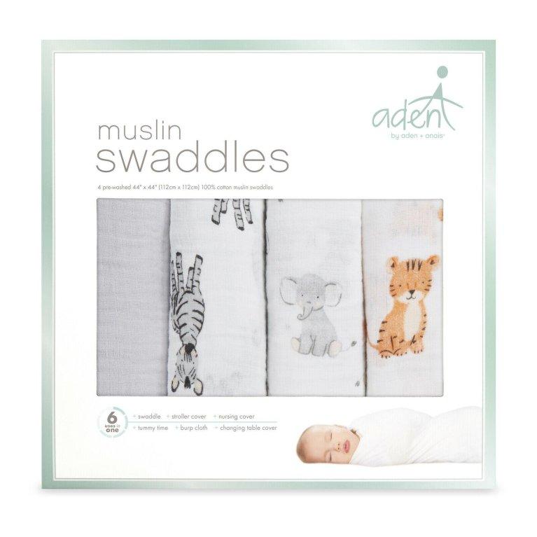 Pack 4 Muselinas - Aden & Anais