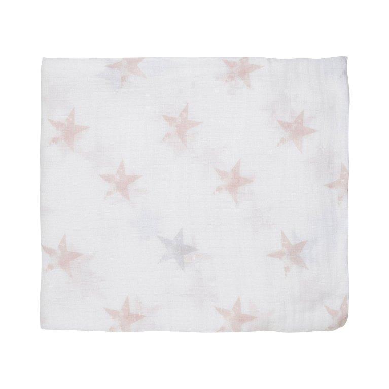 Muselina grande Estrellas rosas Aden by Aden & Anais