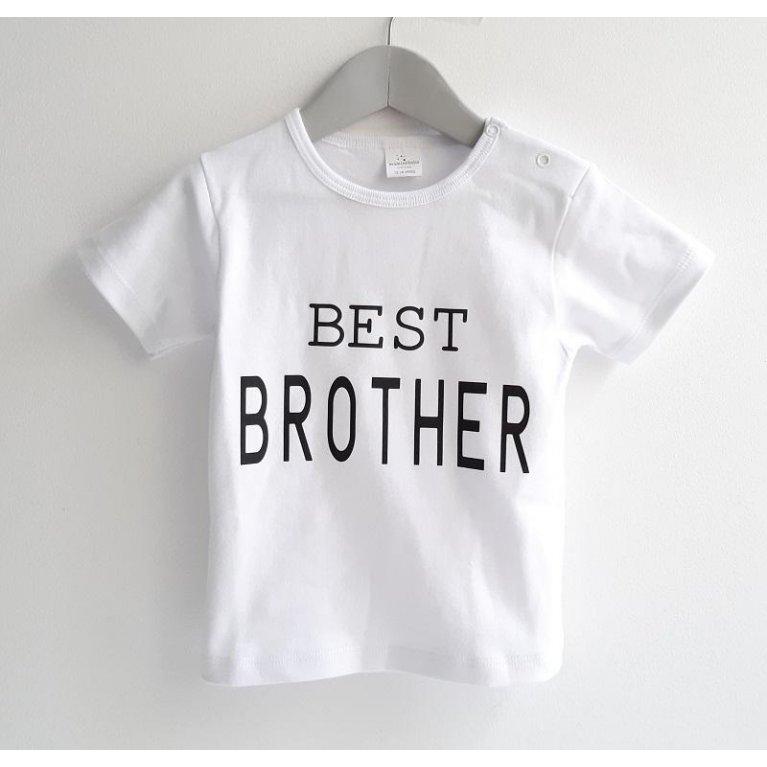 Camiseta niño BEST BROTHER - Maminébaba