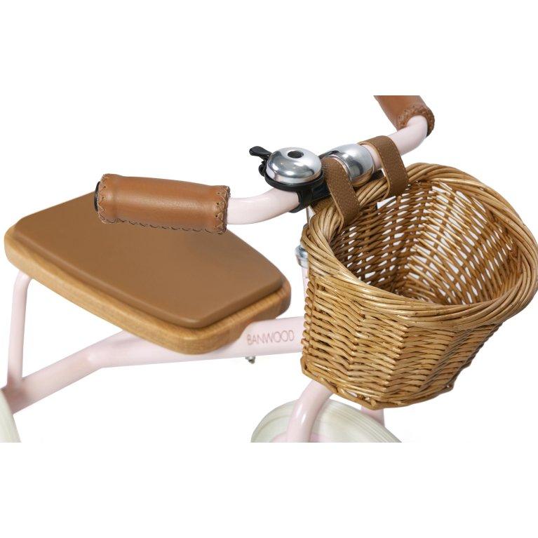 Triciclo niños Banwood - Triciclo infantil con cesta de mimbre