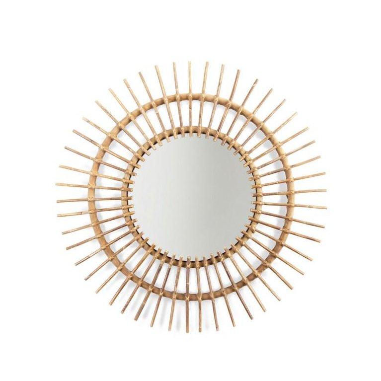 Espejo de ratán Aura 90 cm - Childhome