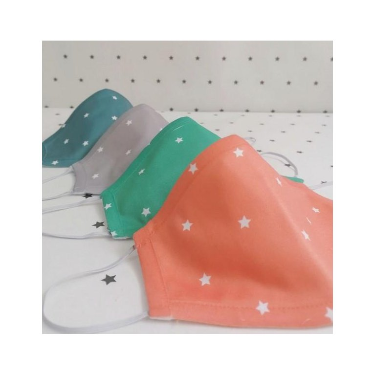 Mascarilla para adultos: mascarilla de tela reutilizable