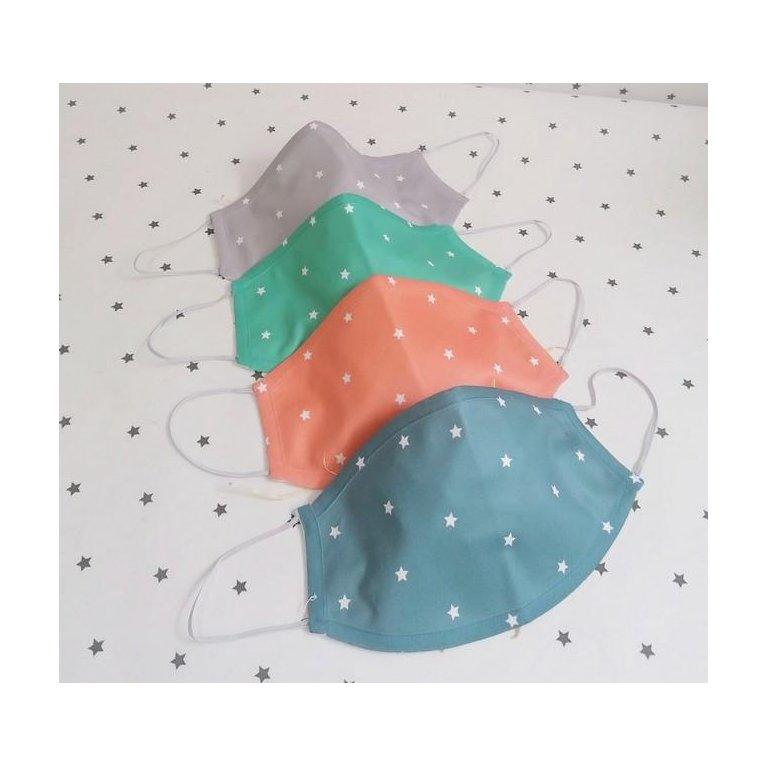 Mascarilla infantil de tela para bebés y niños