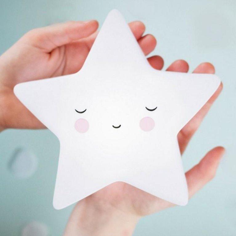 Luz de noche estrella durmiente - A Litlle Lovely Company