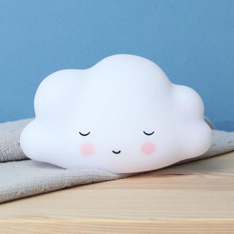 Luz noche bebé nube durmiente - A Little Lovely Company