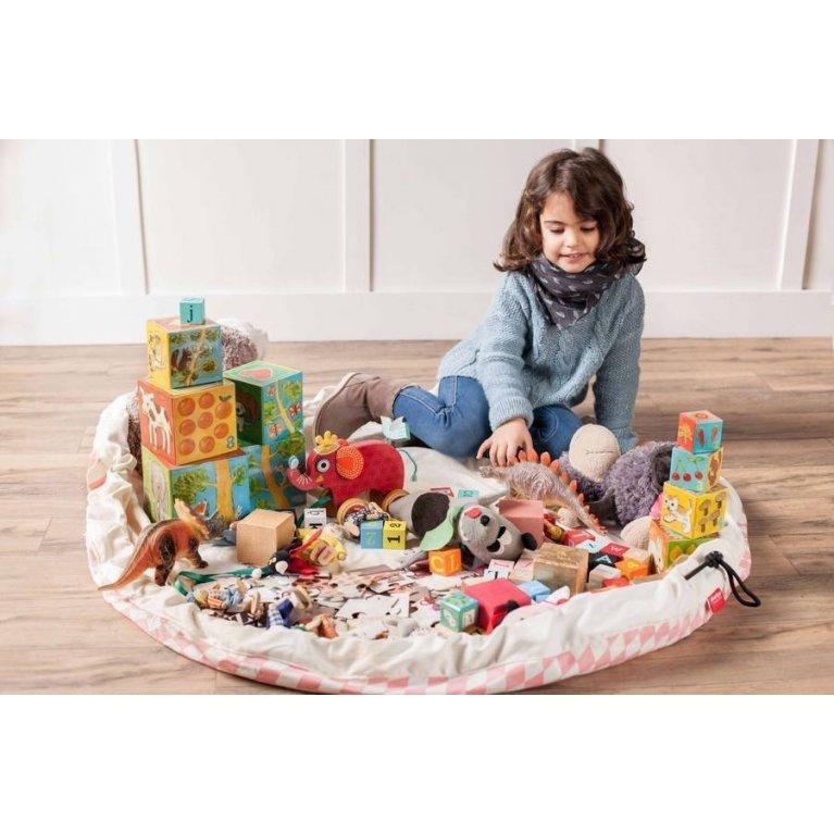 bolsa de almacenaje y juego con robos play&go