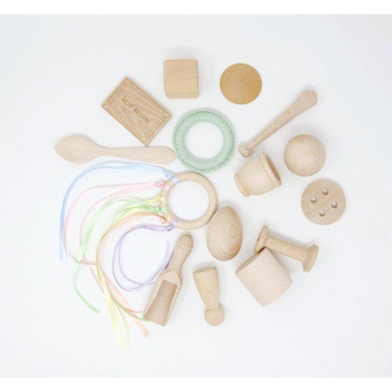 Kit de juguetes de madera de Oursiwood