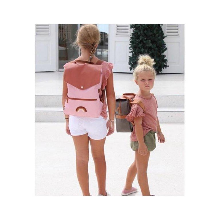 Mochila niños estilo vintage personalizable