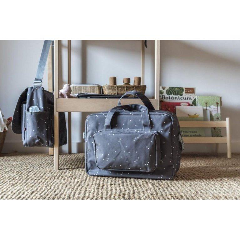 Bolsa de maternidad gris Mini Estrellas - My Bag's