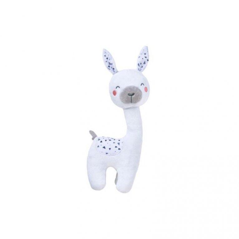 Peluche bebé Llama blanca - Saro