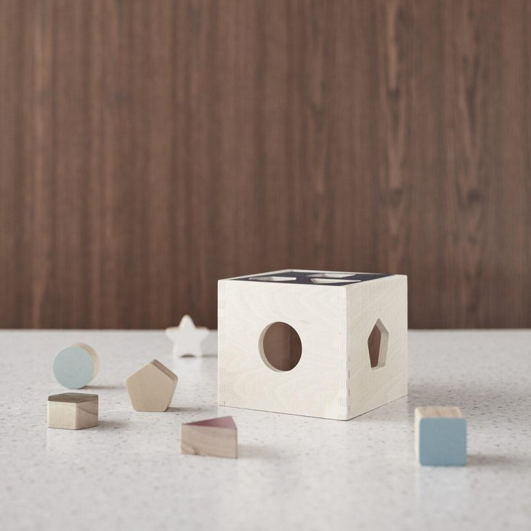 Juguete Montessori Caja de formas - Kid's Concept
