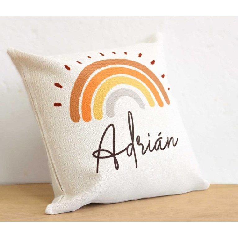 "Cojín Personalizado ""Arco Iris"""
