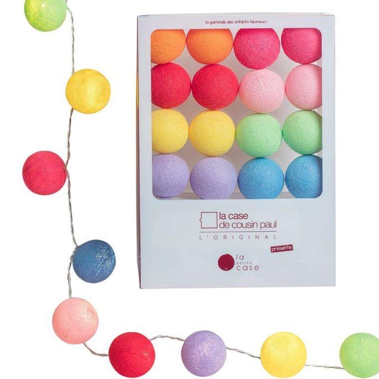 Guirnalda de Luces Multicolor - La casa de cousin Paul