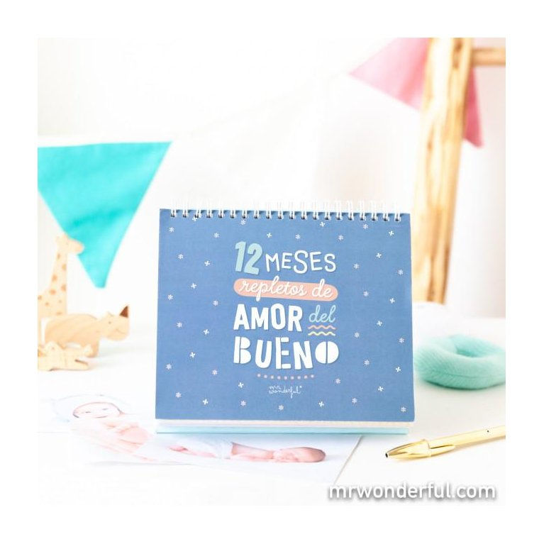 Álbum Cuentameses primer añito - Mr Wonderful