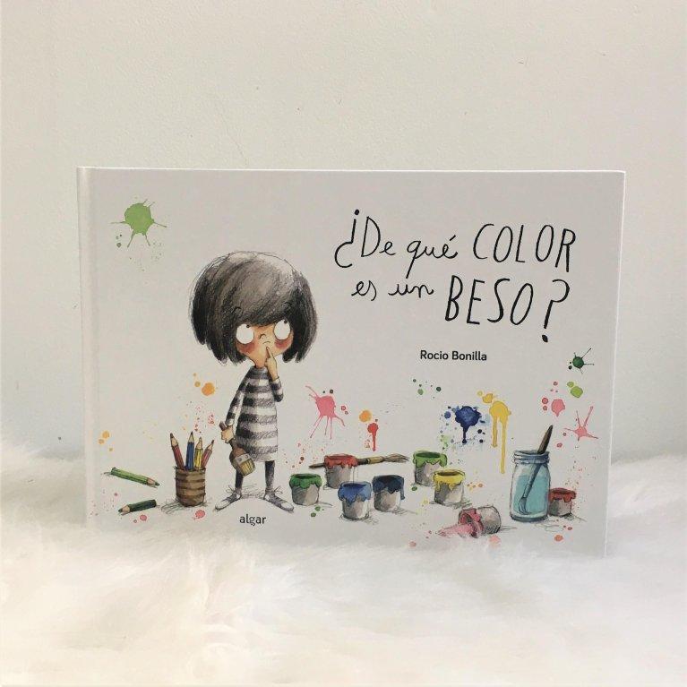 """Cuento infantil """"¿De que color es un beso?"""""""