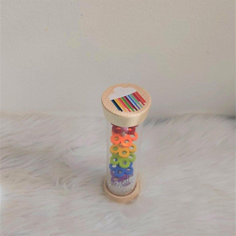 Juguete Musical: barra de lluvia arco iris - Small Foot