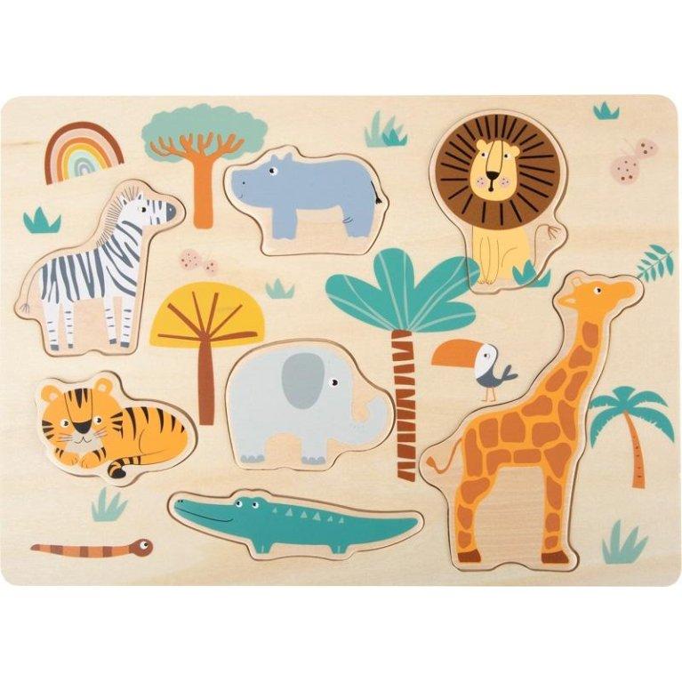 Puzle de Madera: Safari - Small Foot
