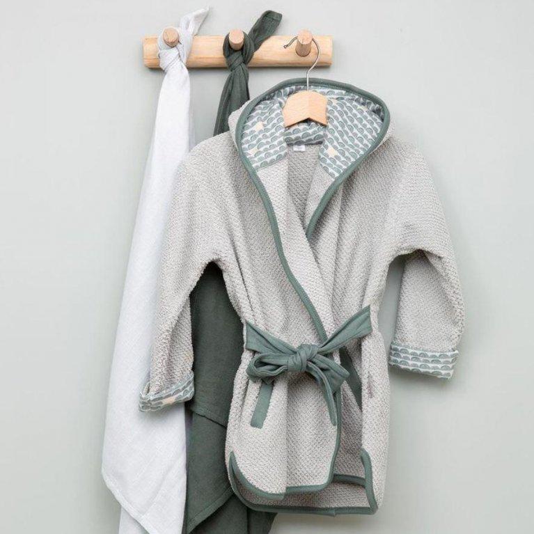 Albornoz de baño para bebé - Luma