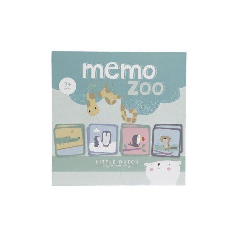 Juego para niños: Memo Zoo - Little Dutch