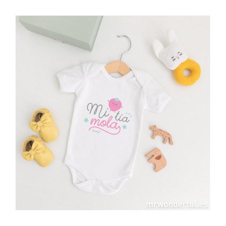 """Body bebé """"Mi tía mola"""" - Mr Wonderful"""