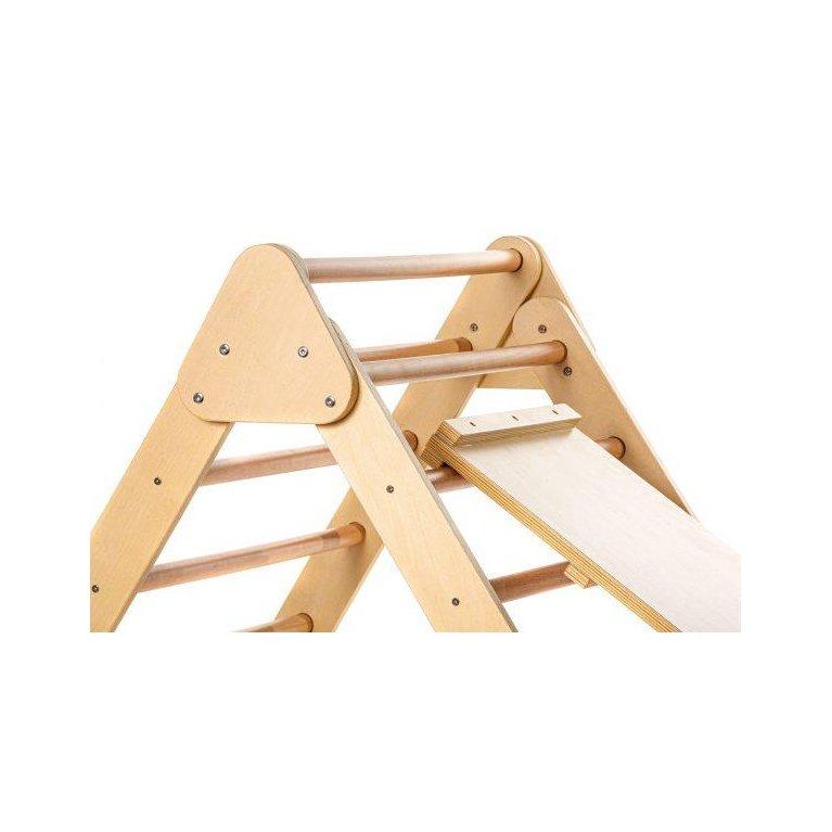 Triángulo Pikler plegable con rampa - Mundo Petit