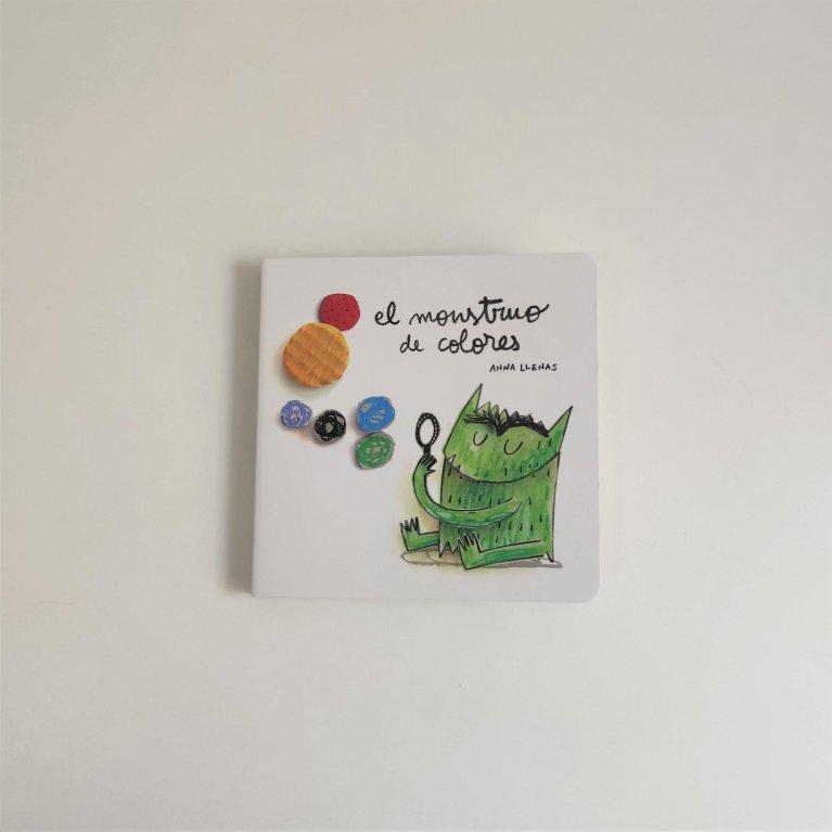 """Cuento infantil """"El monstruo de colores"""""""