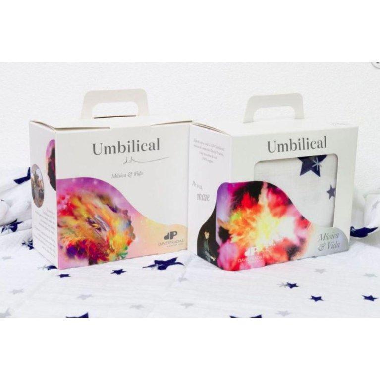 Pack regalo personalizado para bebés con muselina de Tutete