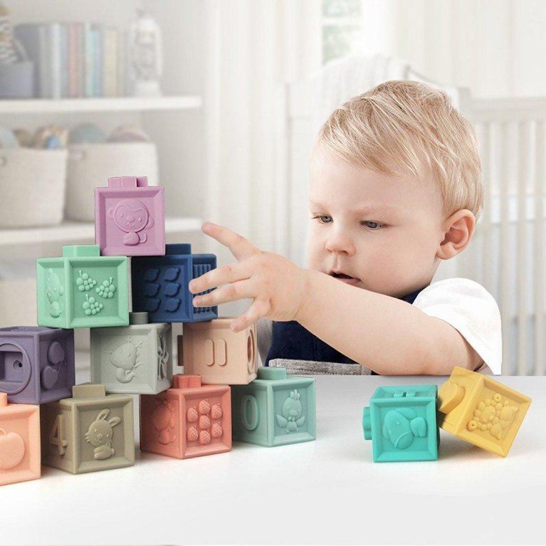 Bloques blanditos sensoriales - Canpol babies