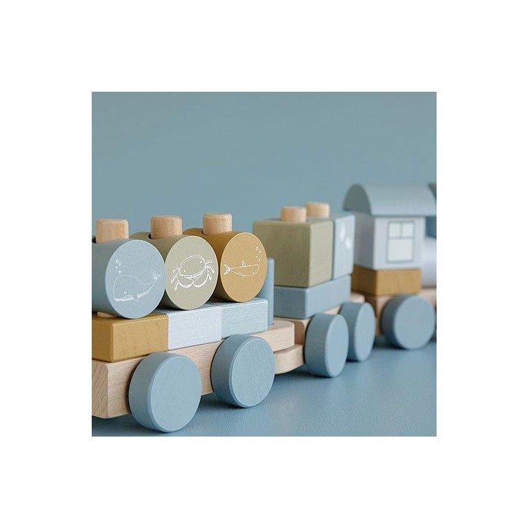 Tren de madera- Little Dutch