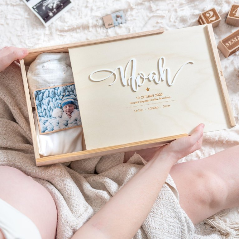Caja de recuerdos personalizada